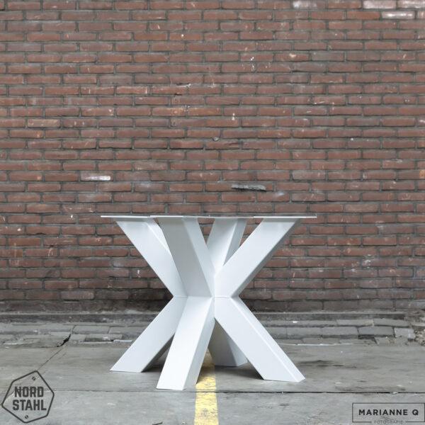 Nordstahl Double X leg heavy wit stalen tafelpoten