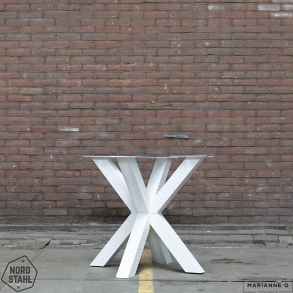 Nordstahl Double X leg wit stalen tafelpoten 2