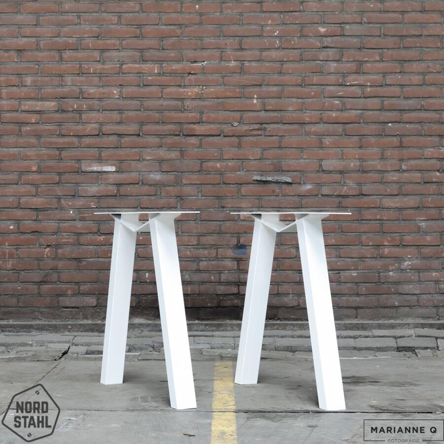 Nordstahl M leg wit stalen tafelpoten 2