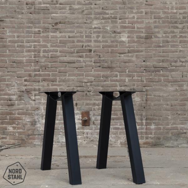 Nordstahl M leg zwart stalen tafelpoten 2
