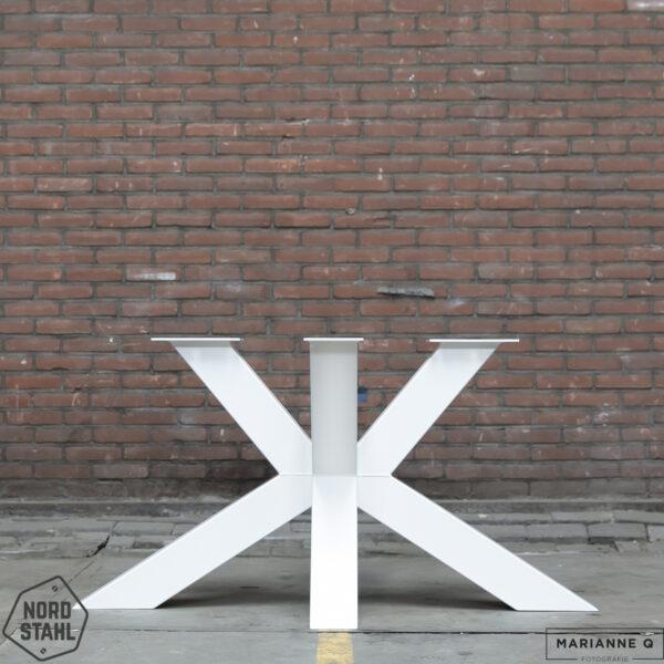 Nordstahl Matrix leg heavy wit stalen tafelpoten
