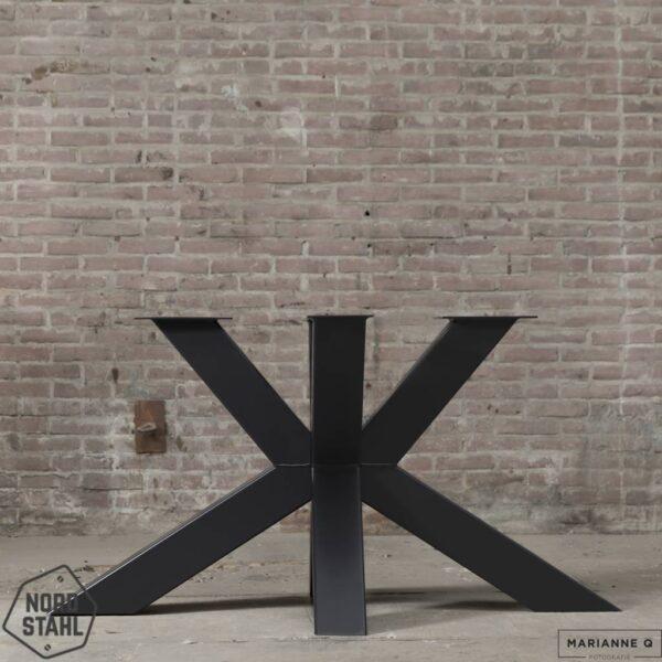 Nordstahl Matrix leg heavy zwart stalen tafelpoten