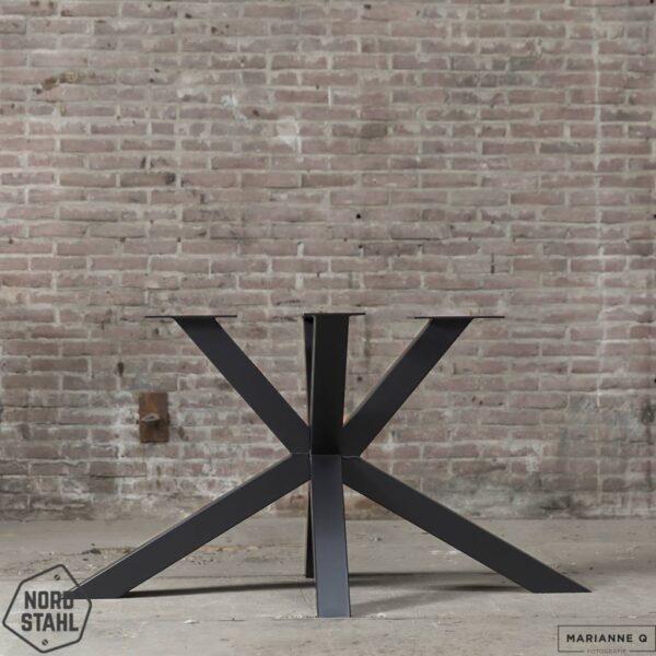 Nordstahl Matrix leg zwart stalen tafelpoten
