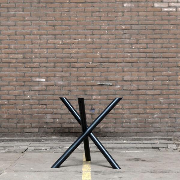 Nordstahl Mikado leg zwart stalen tafelpoten