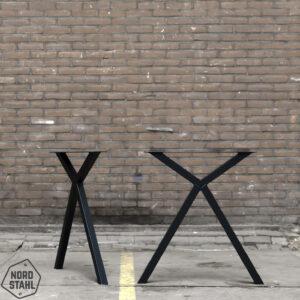 Nordstahl Scissor leg zwart 1 stalen tafelpoten