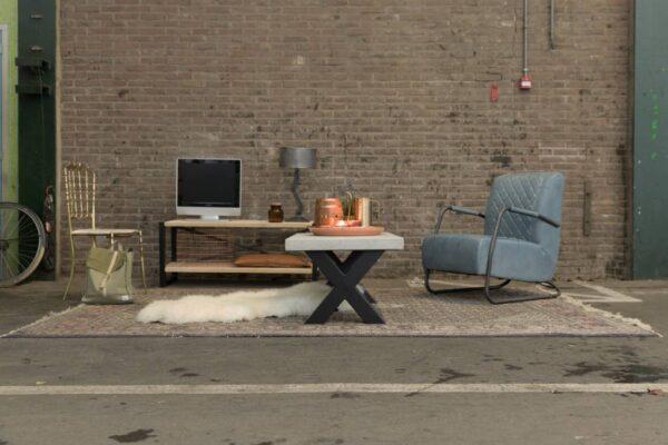 Nordstahl TV cabinet frame sfeerbeeld