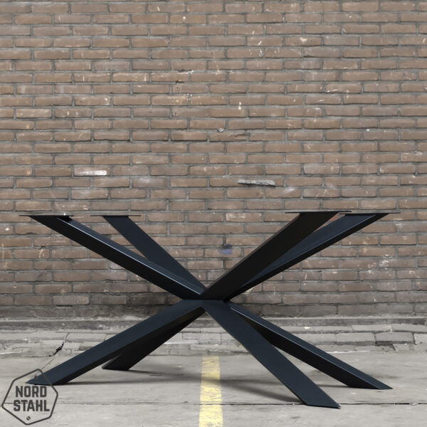 Nordstahl Spider leg zwart stalen tafelpoten