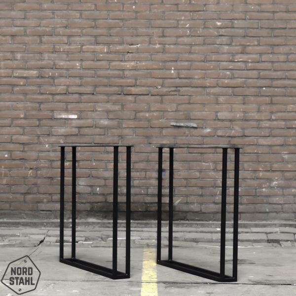 Nordstahl Twin U leg zwart stalen tafelpoten 2